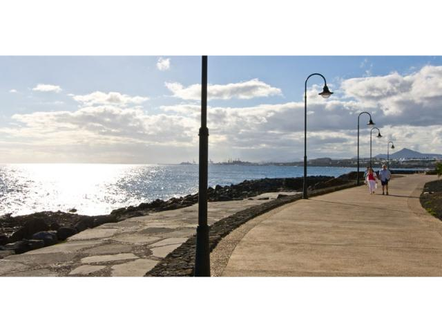 beautiful promenade along the coastline - Villa Clara, Costa Teguise, Lanzarote