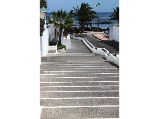 Path down to the beach - The beach house, Costa Teguise, Lanzarote