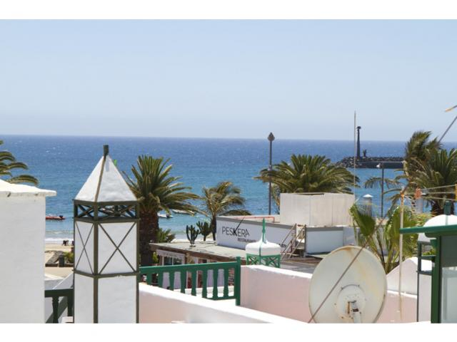 View from Upper Terrace - The beach house, Costa Teguise, Lanzarote